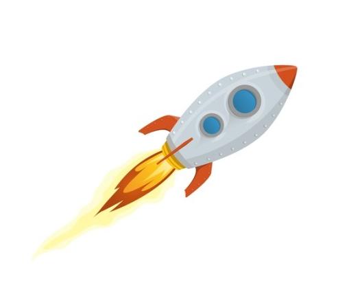 Ракета картинки для детей анимация